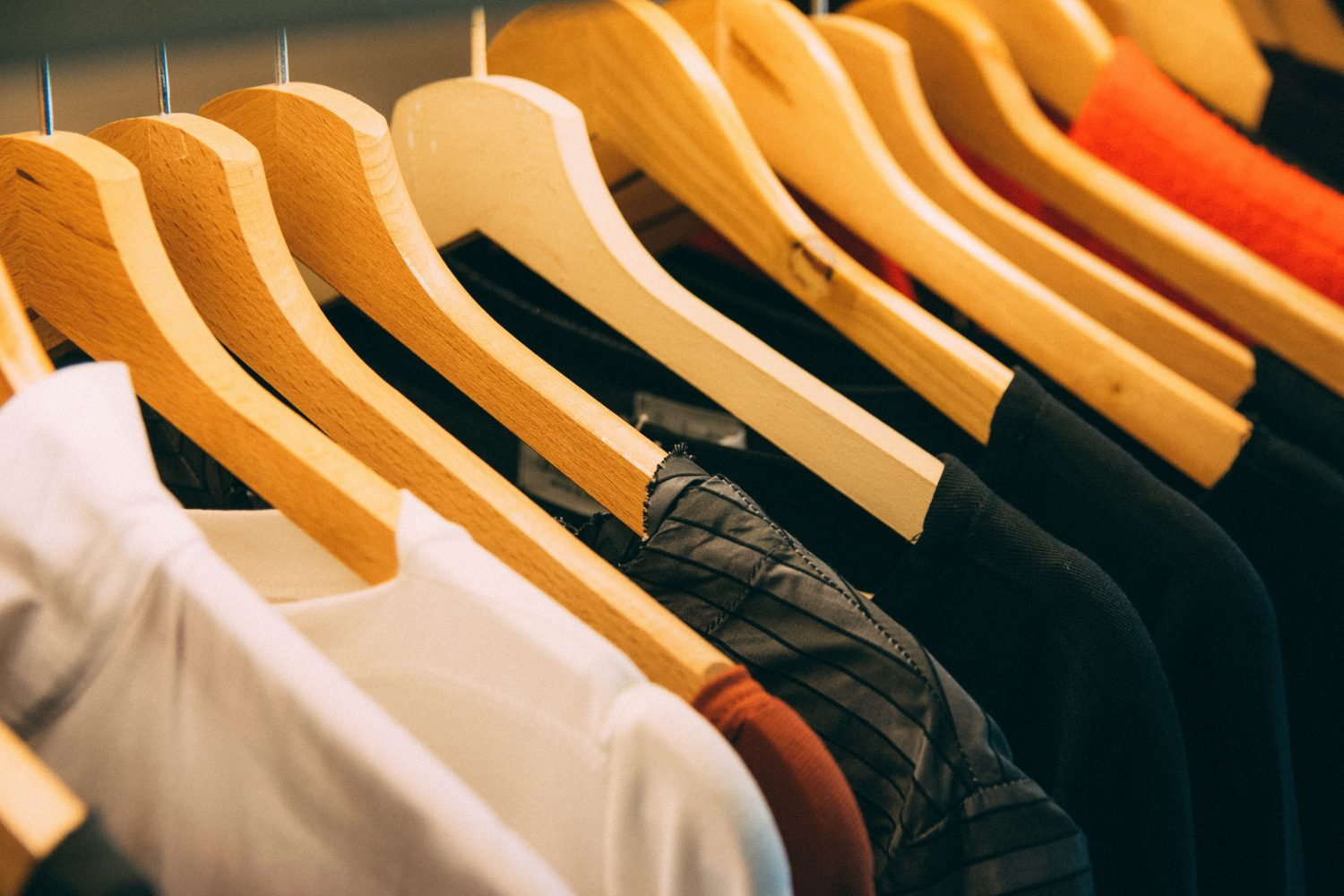 clothes dry cleaned